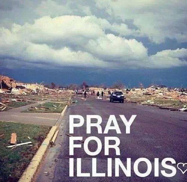 AIMS Power prays for Illinois post-disaster in 2013
