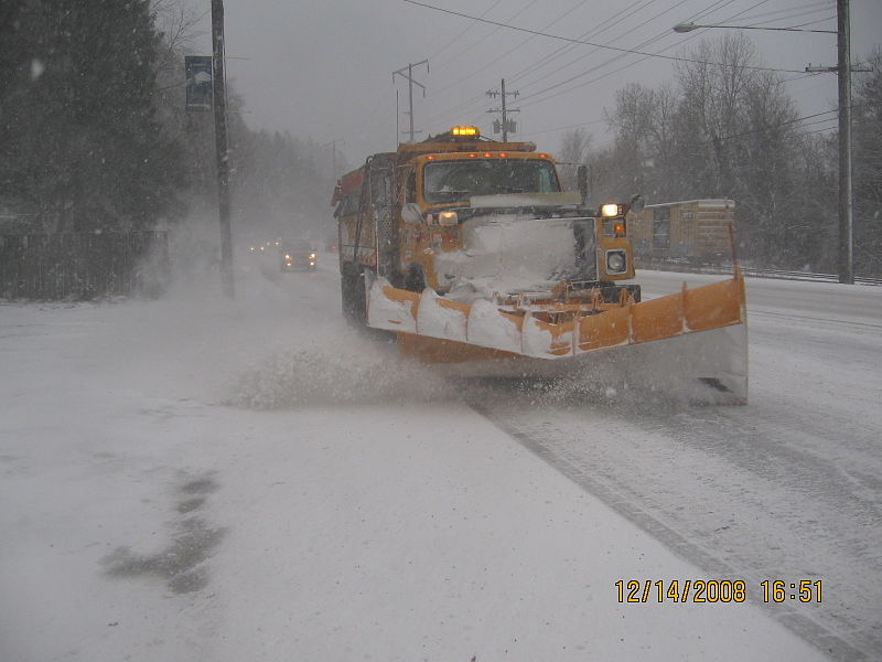 AIMS Power inverters are what provide plows with enough electricity to clear the streets of snow.