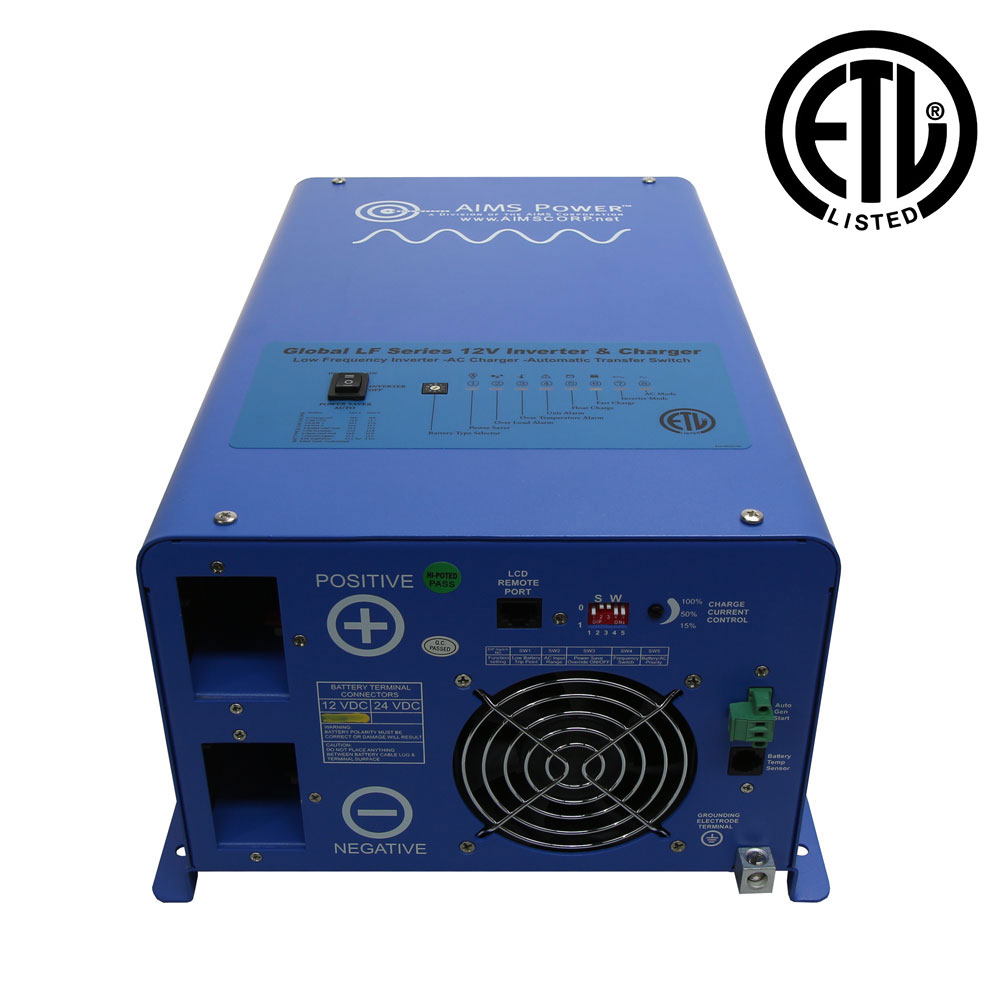 Pure Sine Inverter Chargers And Accessories