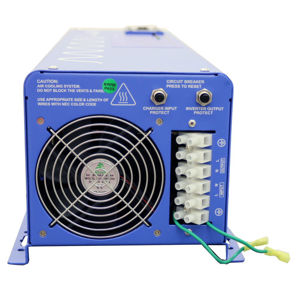 4000 Watt Pure Sine Inverter Charger Iv Wiring And The Frequency Setting View Detailed Images 5