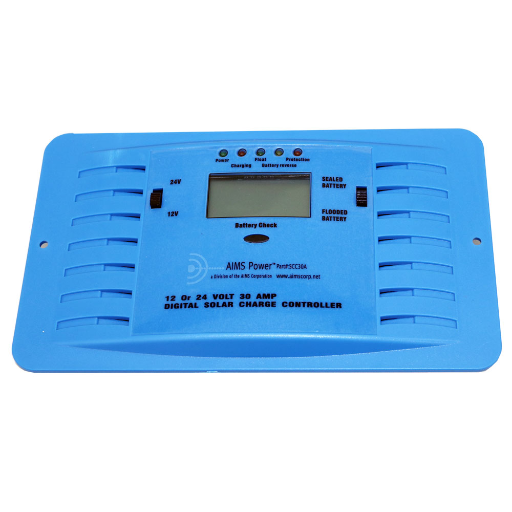 30 Amp Solar Charge Controller 15 To 37 Volt Power Supply