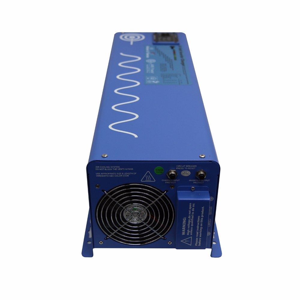 6000 Watt Pure Sine Inverter Charger 24 Volt 36 Fork Lift Battery Wiring Diagram View Detailed Images 4