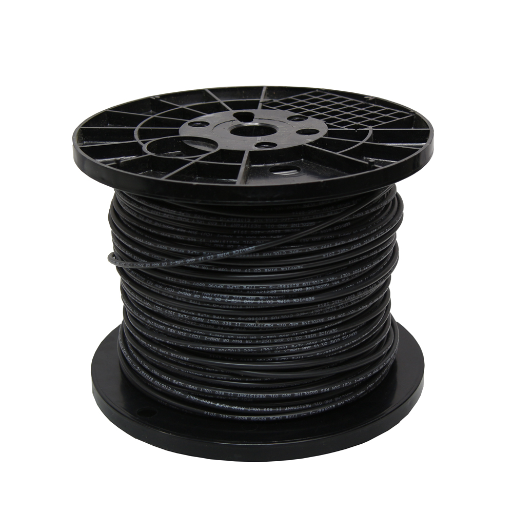 Pv Wire 10 Awg 1000 Ft Roll