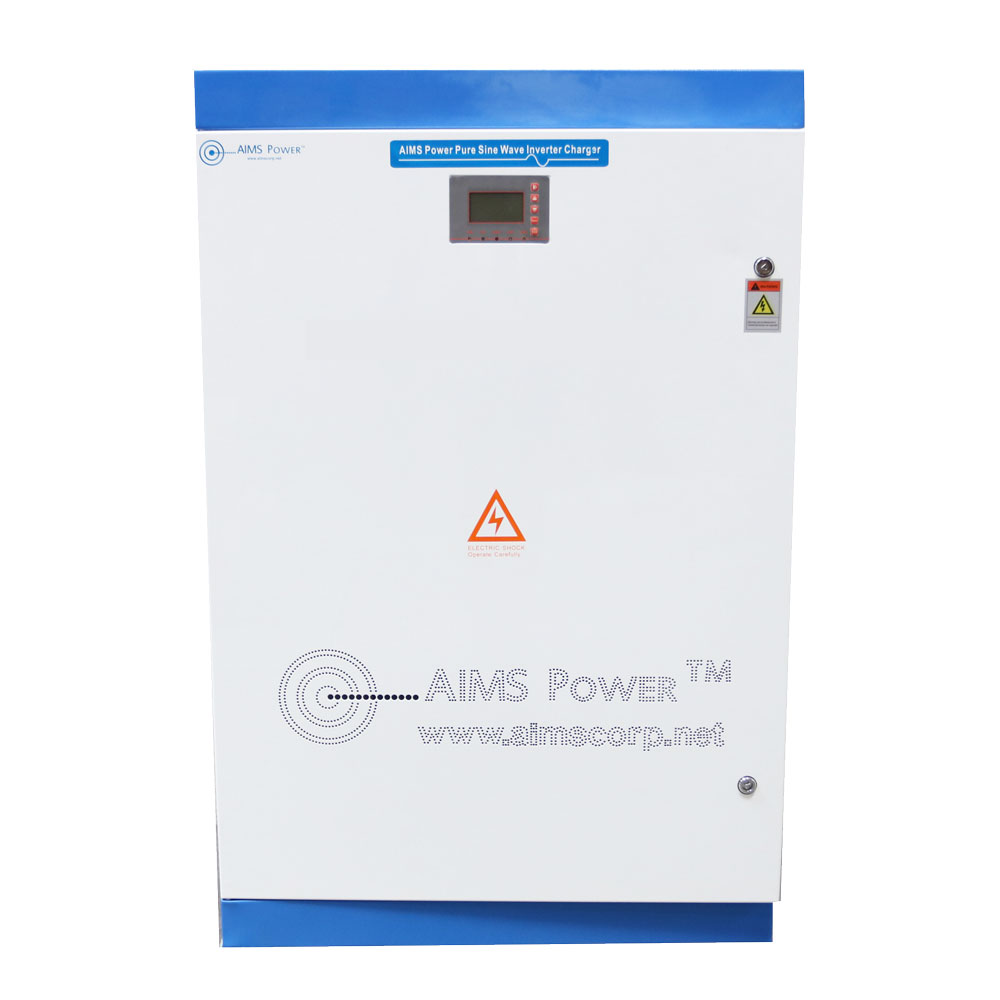 80KW PURE SINE POWER INVERTER CHARGER 384 VDC 240 VAC SPLIT PHASE