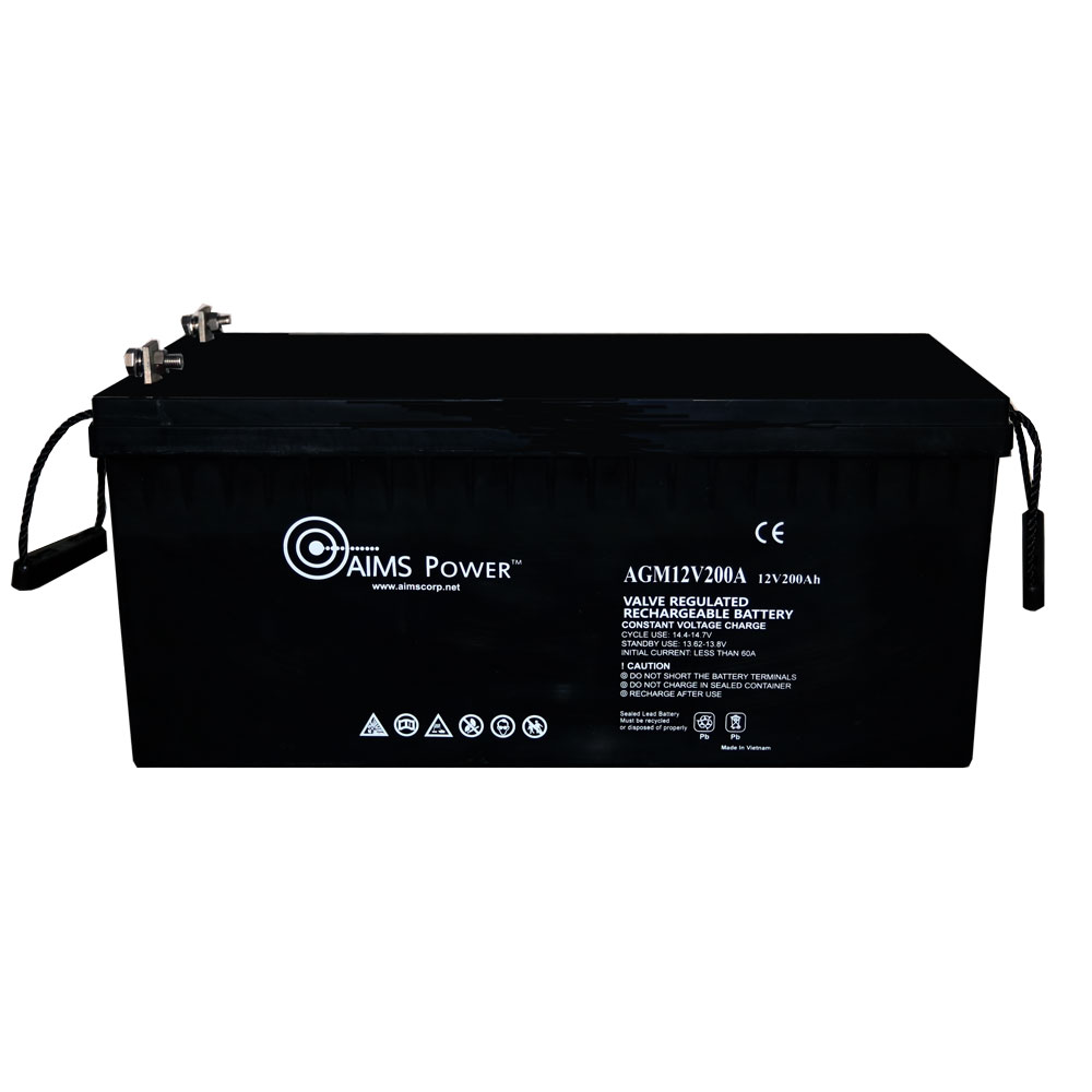 AGM 12V 200Ah Deep Cycle Battery Heavy Duty