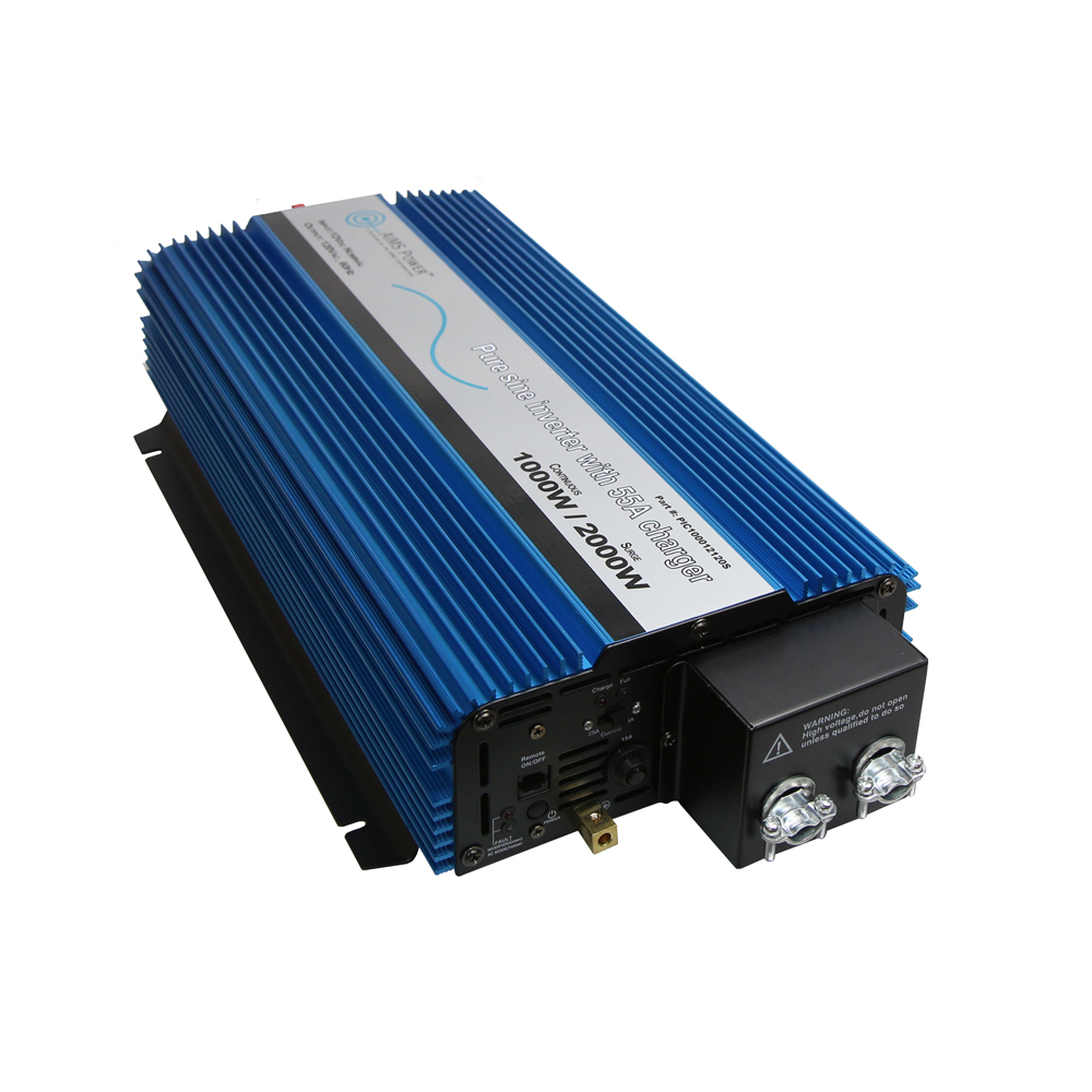 1000 Watt Pure Sine Inverter Charger Hardwire Only