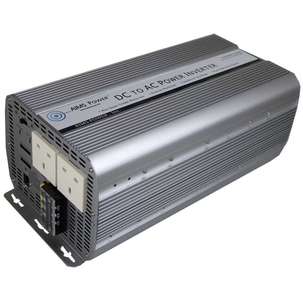 5000 Watt Power Inverter UK Plug 230 Volt European 12 Volt