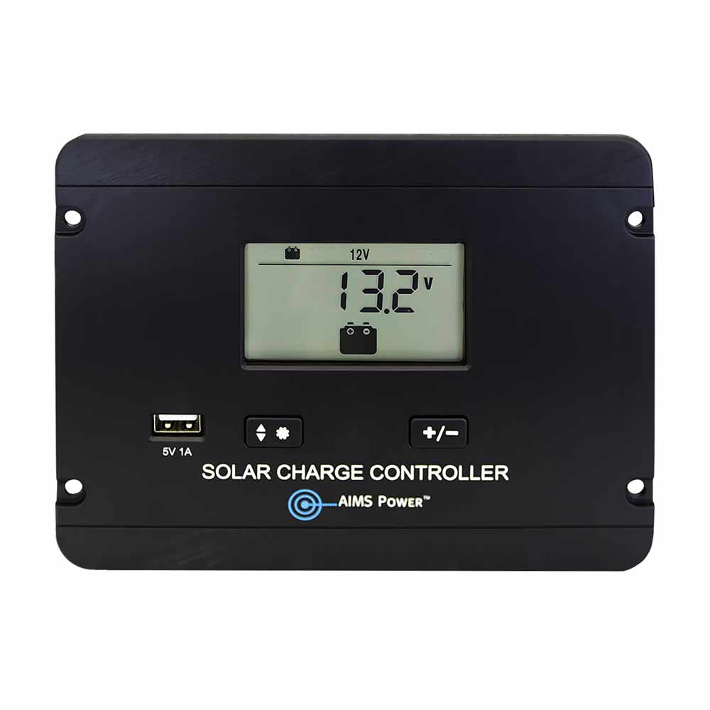 Flush Mount 30 Amp Charge Controller PWM 12/24V
