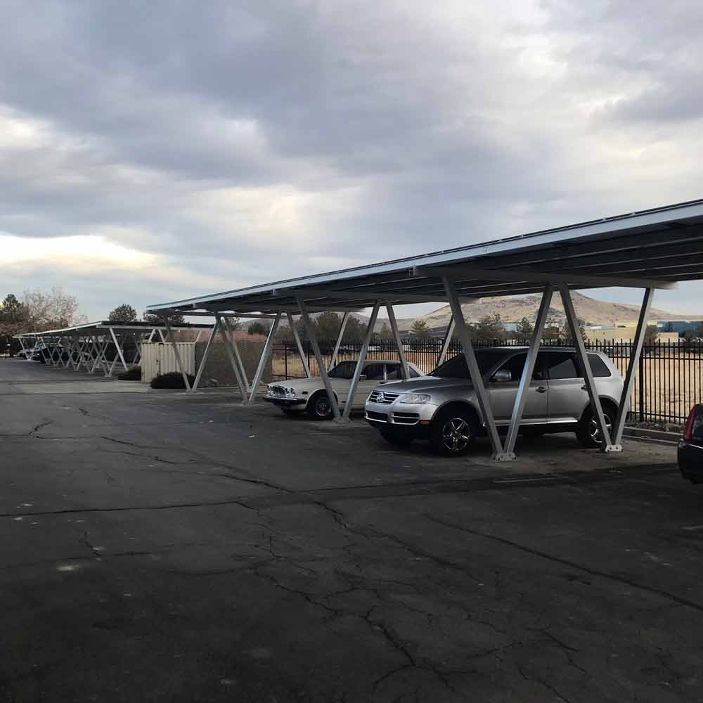 Carport Solar Panel Mounting System – Fits up to 28 Panels