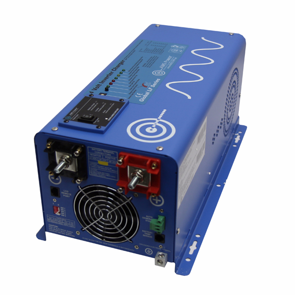 3000 Watt Pure Sine Inverter Charger - 24 volt
