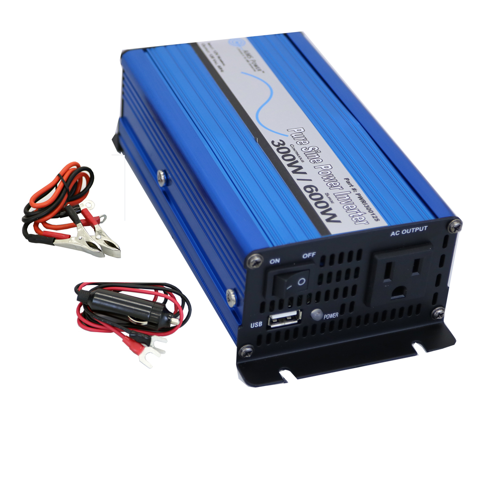 300 Watt Pure Sine Power Inverter 12 Volt