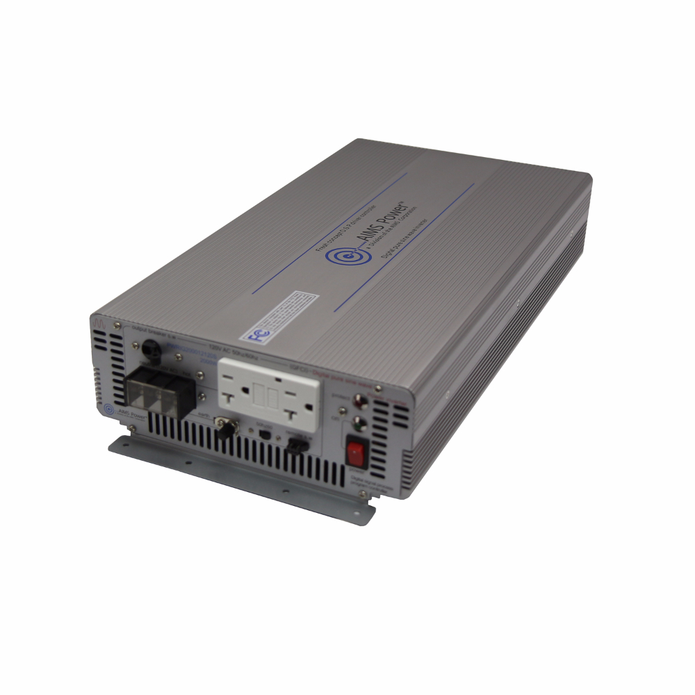 3000 Watt Pure Sine Power Inverter - Industrial