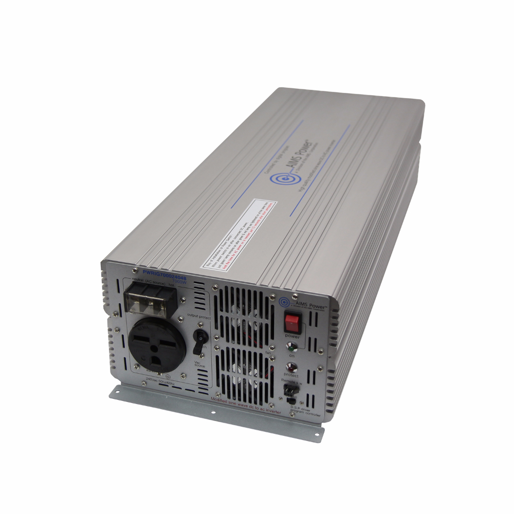 7000 Watt Industrial Power Inverter - 48 volt