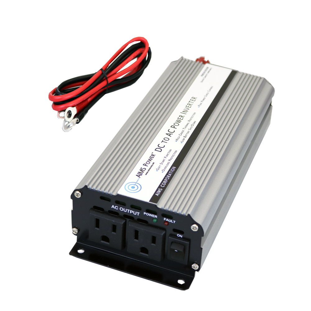 800 Watt Power Inverter with Cables