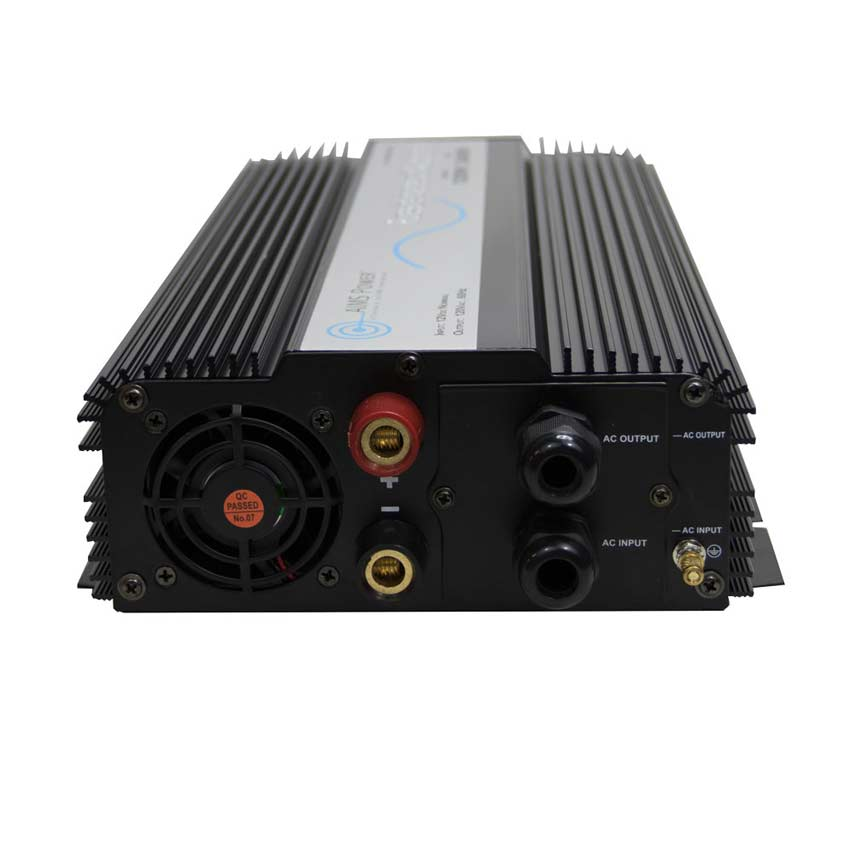 1200 Watt Pure Sine Inverter with Built In Transfer