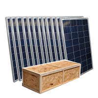 250 Watt Solar Panel Polycrystalline- 12 PACK