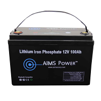 Lithium Battery 12V 100Ah LiFePO4 Lithium Iron Phosphate with Bluetooth Monitoring