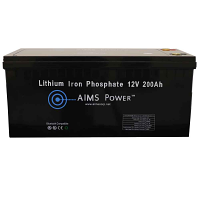 Lithium Battery 12V 200Ah LiFePO4 Lithium Iron Phosphate with Bluetooth Monitoring