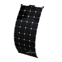 130 Watt Flexible Bendable Slim Solar Panel Monocrystalline