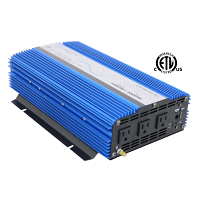 1500 Watt Pure Sine Inverter 12Vdc ETL Listed to UL 458 - Out of Stock