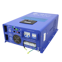 10000 Watt Pure Sine Inverter Charger - 48 Vdc / 240Vac Input & 120/240Vac Split Phase Output